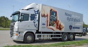 Ciężka dystrybucja – Scania G
