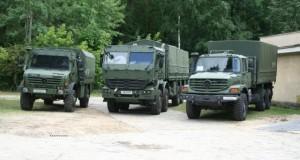 Gama pojazdów wojskowych Mercedes-Benz