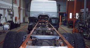Naprawy RAM pojazdów ciezarowych