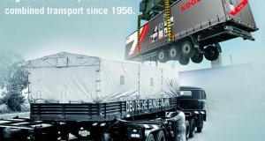 Naczepa Kögel przystosowana do transportu kombinowanego kiedyś i dziś