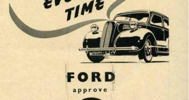 100 lat współpracy Castrol-Ford_ reklama Castrol dla Ford