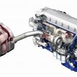 Silnik Volvo D13 spełniający normę Euro 6 na pompowtryskach