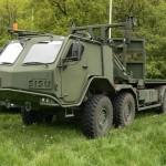 Sisu E13TP 8x8 będący na wyposażeniu armii litewskiej