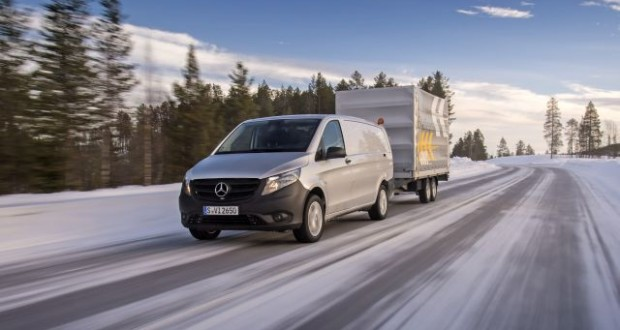 Vito 4x4 driving experience Sweden