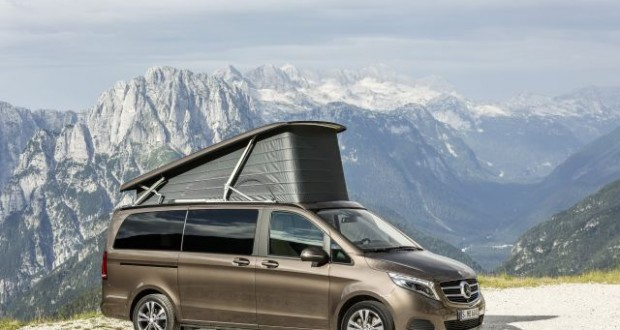 Der neue Mercedes-Benz Marco Polo; The New Mercedes-Benz Marco P