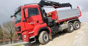 9_Zabudowa trójstronna KH-KIPPER prezentowana na ubiegłorocznych MAN Trucknology Days