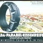 Fulda  Parabel reklama 1925