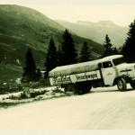 Test opon ciężarowych 1950