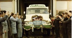 MAN Munich plant: truck no. 30000, 1960