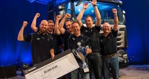 Zwycięska drużyna Scania Top Team