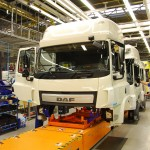 10 - 50 years of DAF production in Belgium - Westerlo - Vlaanderen - Building a new cab