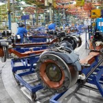 11 - 50 years of DAF production in Belgium - Westerlo - Vlaanderen - Production of axles