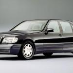 Mercedes S-klasy (W140). Pierwszy samochód na świecie w krórym w 1992 roku zastosowano magistralę CAN .
