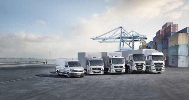 """Dzięki pełnej gamie pojazdów użytkowych o dopuszczalnej masie od 3 do 44 ton, MAN staje się dostawcą """"pełnowymiarowym"""", który proponuje optymalne rozwiązania dla każdego zadania transportowego."""