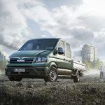Wśród proponowanych typów nadwozi, oprócz klasycznych nadwozi zamkniętych i  przeszklonych furgonów, proponuje się również podwozia w wersji z pojedynczą i podwójną kabiną.