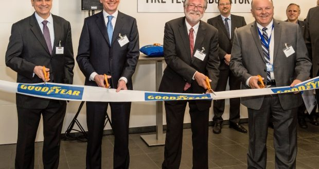 Goodyear otwiera nowe laboratorium do testowania opon w Luksemburgu