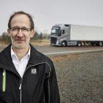 Carl Johan Almqvist, dyrektor ds. bezpieczeństwa ruchu drogowego produktów w Volvo Trucks.