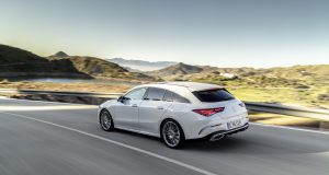 Mercedes-Benz CLA Shooting Brake, X118, 2019, AMG-Line, Exterieur, digitalweiß   Mercedes-Benz CLA Shooting Brake, X118, 2019, AMG-Line, exterior, digital white
