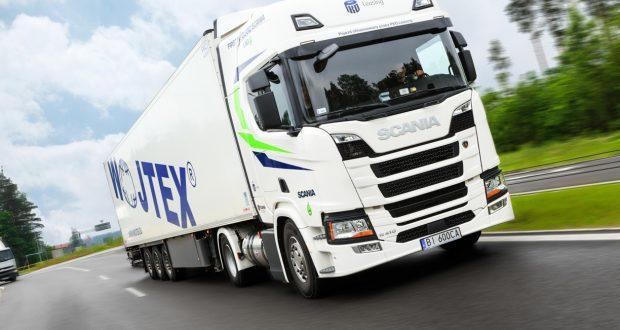 Scania firmy Wojtex.