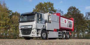 DAF Trucks wprowadza podwozie 6x2 serii CF Electric. Pierwsze pojazdy niedługo będą testowane w terenie.