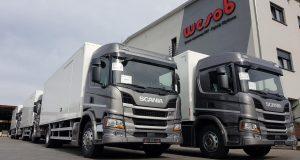 Pojazdy Scania dla Kompanii Dystrybucyjnej_Wesob_1