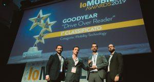 Goodyear uhonorowany nagrodą IoMobility w kategorii Mobility Technology